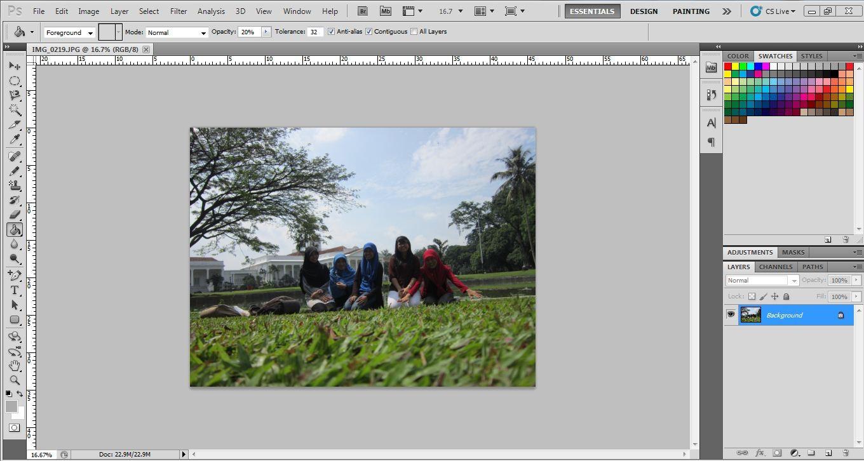 Tutorial Membuat Efek Soft Tone Pada Foto