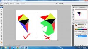 Rule - Tutorial Membuat Triangulation Polygon Art Sederhana dengan Photoshop
