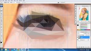 step6-2 - Tutorial Membuat Triangulation Polygon Art Sederhana dengan Photoshop