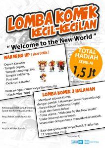 Poster Lomba Komik - LAB ICT